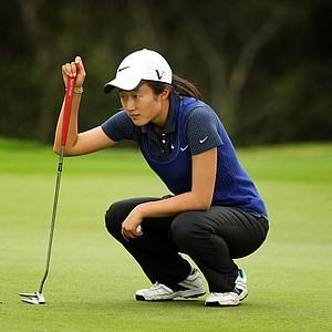 Yu Liu during the Annika Invitational at Reunion Resort.