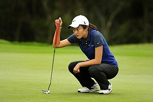Yu Liu during the Annika Invitational at Reunion Resort.