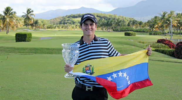 Jorge Garcia won the AJGA Puerto Rico Junior Open with a 10-under-par 206 total.