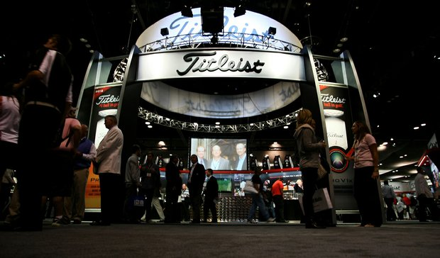 Titleist with a large presence at the 2013 PGA Merchandise Show.