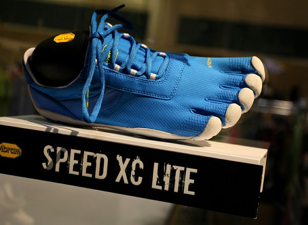The Speed XC Lite is one of four golf-specific Vibram Fivefinger shoes to debut in 2013.