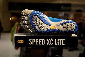 The Speed XC Lite is one of four golf-specific Vibram Fivefinger shoes to debut in the fall of 2013.