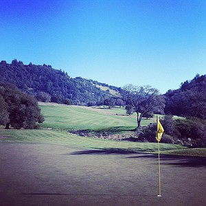 The Mayacama Golf Club in Santa Rosa, Calif., the home course for Cal.