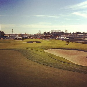A look at Cal's short-game practice facility.