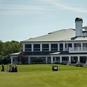 The Floridian Golf and Yacht Club from No. 18 fairway during the Devon Quigley Pro-Am.