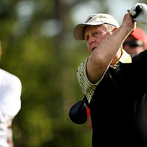 Jack Nicklaus at No. 17 during the Devon Quigley Pro-Am at the Floridian.