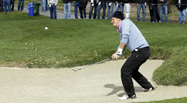 Fredrik Jacobson during the Pebble Beach National Pro-Am.