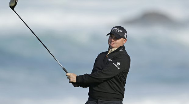 Ted Potter Jr. holds a share of the lead after two rounds at the AT&T Pebble Beach National Pro-Am.
