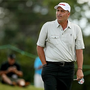 Rocco Mediate makes his debut at the 2013 Allianz Championship on The Old Course at Broken Sound.