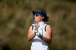 Lauren Coughlin of Virginia during the UCF Challenge at Red Tail Golf Club in Sorrento, Fla.