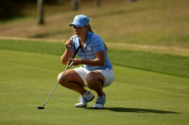 Elizabeth Mallett of North Carolina during the UCF Challenge at Red Tail Golf Club in Sorrento, Fla. Mallet placed T3 with her teammate Katherine Perry.