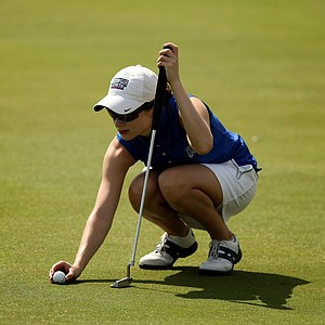 Laura Sanchez of Georgia State during the UCF Challenge at Red Tail Golf Club in Sorrento, Fla.