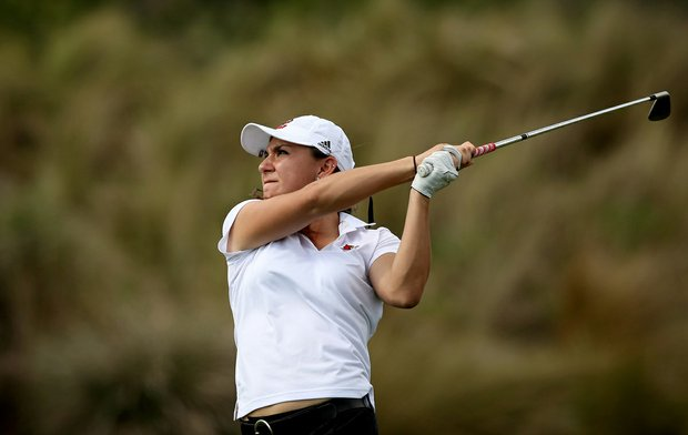 Tara Lyons of Louisville during the UCF Challenge at Red Tail Golf Club in Sorrento, Fla.