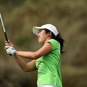 Shena Yang of USF during the UCF Challenge at Red Tail Golf Club in Sorrento, Fla. USF placed 16th.