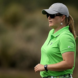Marci Kornegay, head coach of USF, during the UCF Challenge at Red Tail Golf Club in Sorrento, Fla.