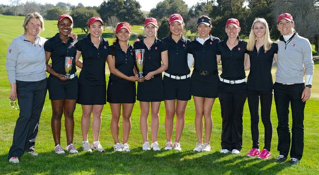 Stanford won the team title at the Peg Barnard Invitational.