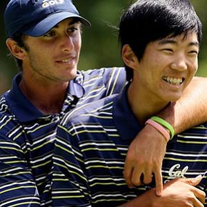 California's Max Homa and Michael Kim