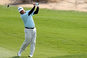 Tim Clark used grit and a stellar wedge game to defeat Thorbjorn Olesen at the WGC-Accenture Match Play.