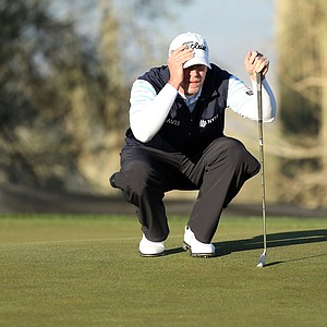 Steve Stricker during the third round of the WGC-Accenture Match Play Championship.