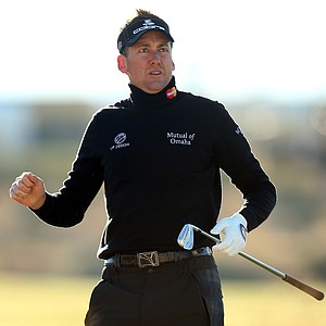 Ian Poulter during the third round of the WGC-Accenture Match Play Championship.