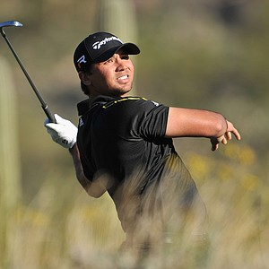 Jason Day during the quarterfinals of the WGC-Accenture Match Play Championship.