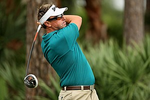 Robert Allenby at the Pro-Am during the Honda Classic on Wednesday.
