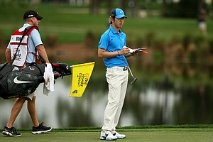 Seung-Yul Noh during the Pro-Am at the Honda Classic on Wednesday.