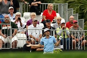 Musician Kenny G during the Pro-Am at the Honda Classic on Wednesday.