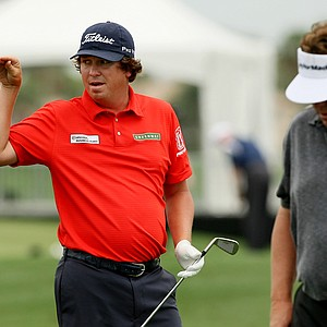 Jason Dufner on Wednesday at the Honda Classic.