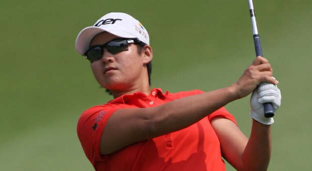 Yani Tseng plays a shot during the Honda LPGA Thailand.