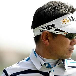 Y. E. Yang at No. 18 during the Honda Classic on Saturday.