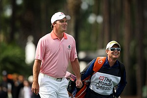Nicholas Thompson during the Honda Classic on Saturday.