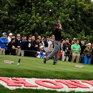 Tiger Woods during the Honda Classic on Saturday.