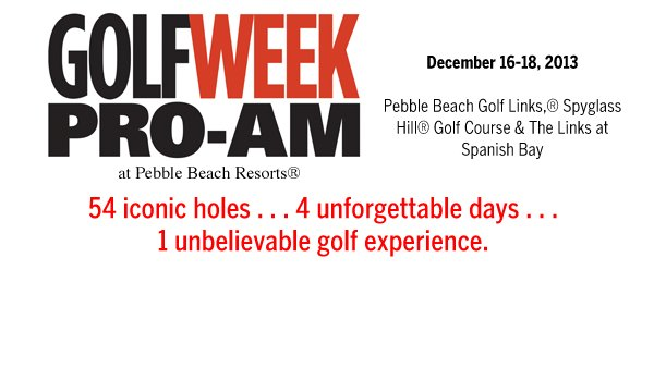 2013 GW Pro-Am at Pebble Beach