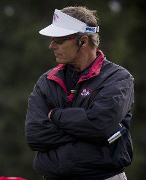 Fresno State head coach Mike Watney
