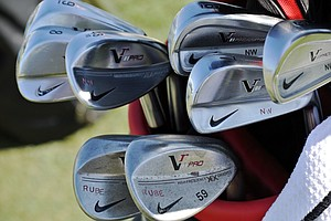 Nick Watney switched to a set of Nike VR Pro Combo irons after he signed an endorsement deal with the company before the start of the 2013 season.