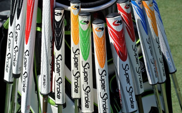 Super Stroke grips are not just big, now they're colorful too.