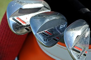 Jason Day has a full complement of TaylorMade ATV wedges.
