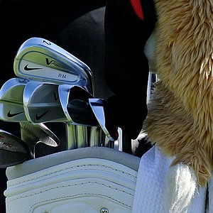 Rory McIlroy is using a Nike VR Pro Combo 2-iron, along with his VR Pro Blades this week at Doral.