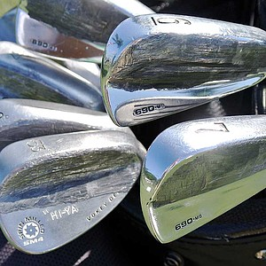 Scott Piercy adds weight to his Titleist 690MB irons and Vokey Design SM4 wedges.