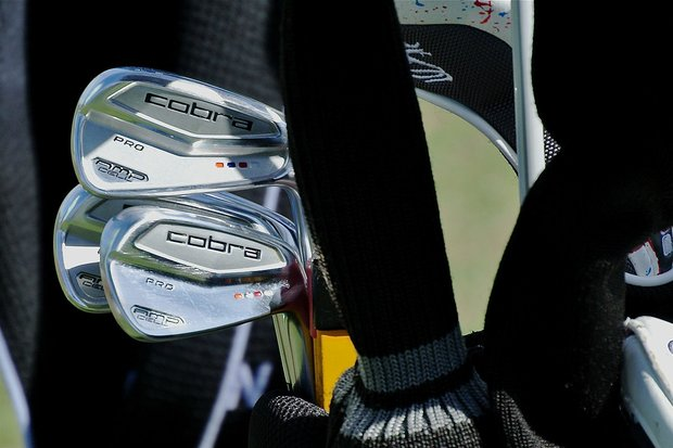 Ian Poulter recently switched to Cobra's new AMP Cell Pro irons.
