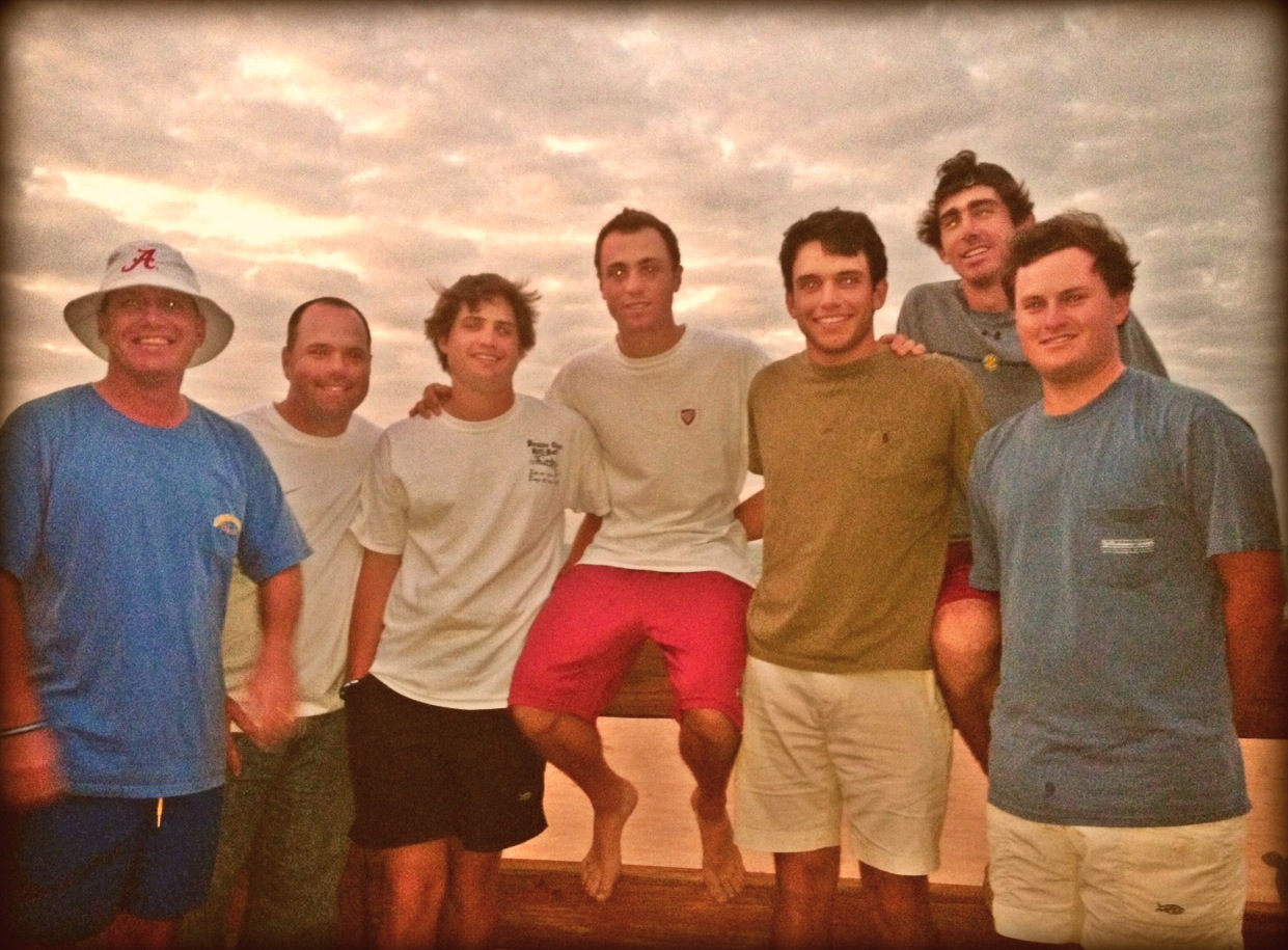 The team at the beach in Puerto Rico