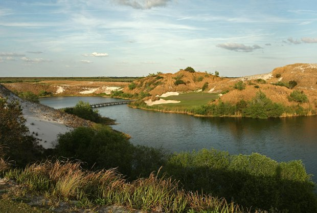 No. 7 Blue at Streamsong.