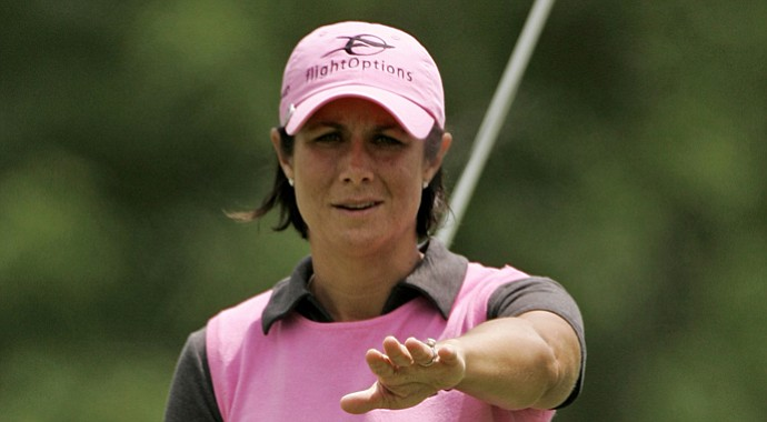 Laura Diaz at the Jamie Farr Owens Corning Classic golf tournament Thursday, July 2, 2009.