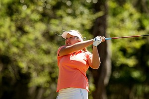 Camilla Hedberg of the Florida Gators during the Sun Trust Gator Women's Invite at Mark Bostick Golf Course.