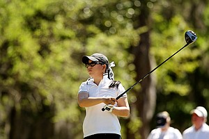 Chirapat Jao-Javanil of Oklahoma during the Sun Trust Gator Women's Invite at Mark Bostick Golf Course.
