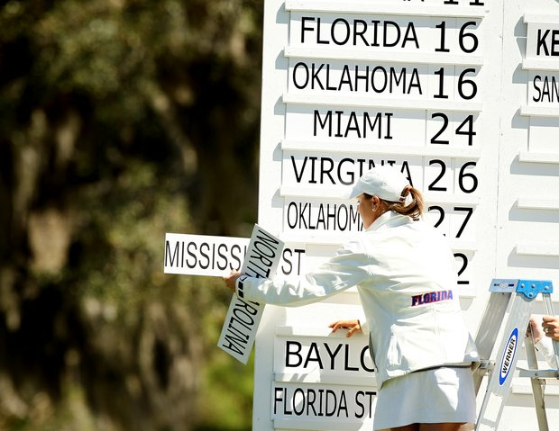 Fifteen teams gathered to play the 41st-annual Sun Trust Gator Women's Invite at Mark Bostick Golf Course.
