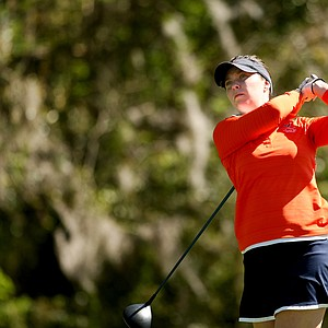 Brittany Altomare of Virginia during the Sun Trust Gator Women's Invite at Mark Bostick Golf Course.