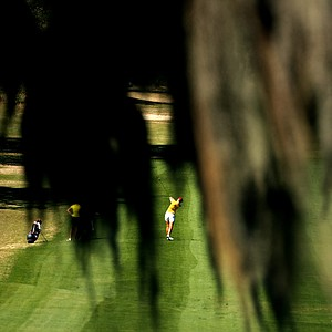 Florida State's Malin Jansson in the fairway at No. 10 during the Sun Trust Gator Women's Invite.