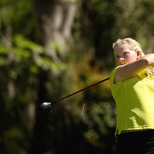 Baylor's Hayley Davis during the Sun Trust Gator Women's Invite.